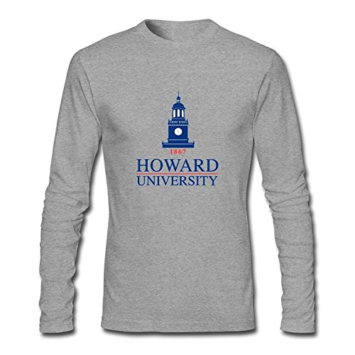 T-shirt Howard University Logo Long Sleeve