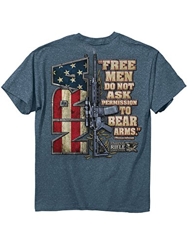 Jefferson Free Don't Ask Permission To Bear Arms T-Shirt