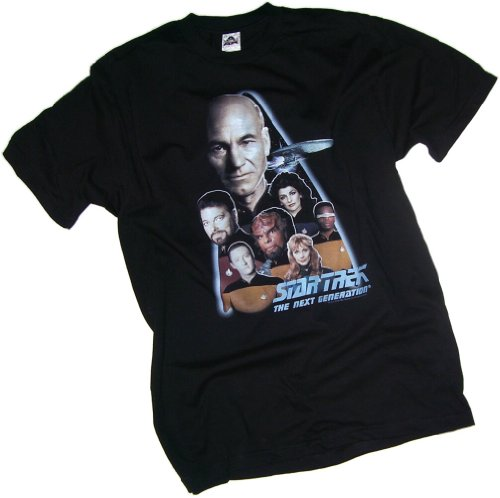 Star Trek: The Next Generation Crew Adult T-Shirt