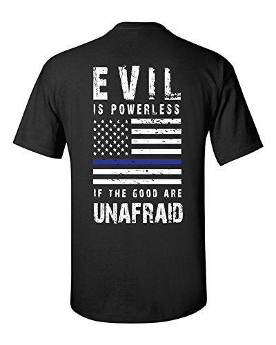 Police Blotter Certified Wolfhunter Evil is Powerless T-Shirt