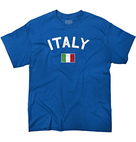 Italy Flag World Cup Soccer Italian National Flag Pride T-Shirt