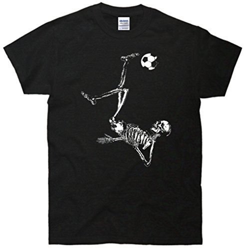 Soccer Skeleton In Action T-Shirt