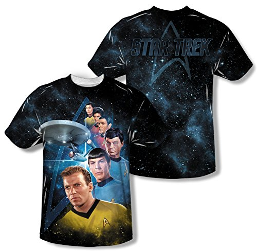 Wicked Tees STAR TREK Short Sleeve MGHESS T-Shirt Tee