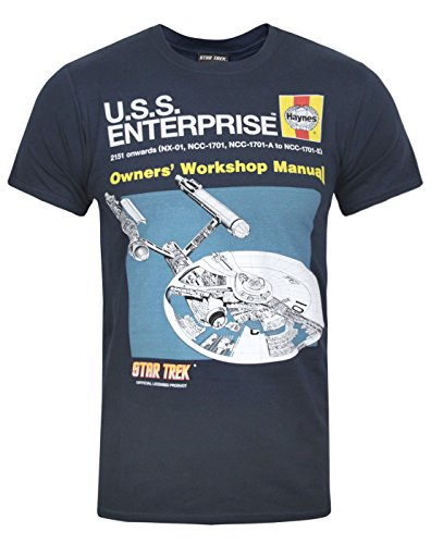 Official Haynes Manual Star Trek Enterprise T-Shirt